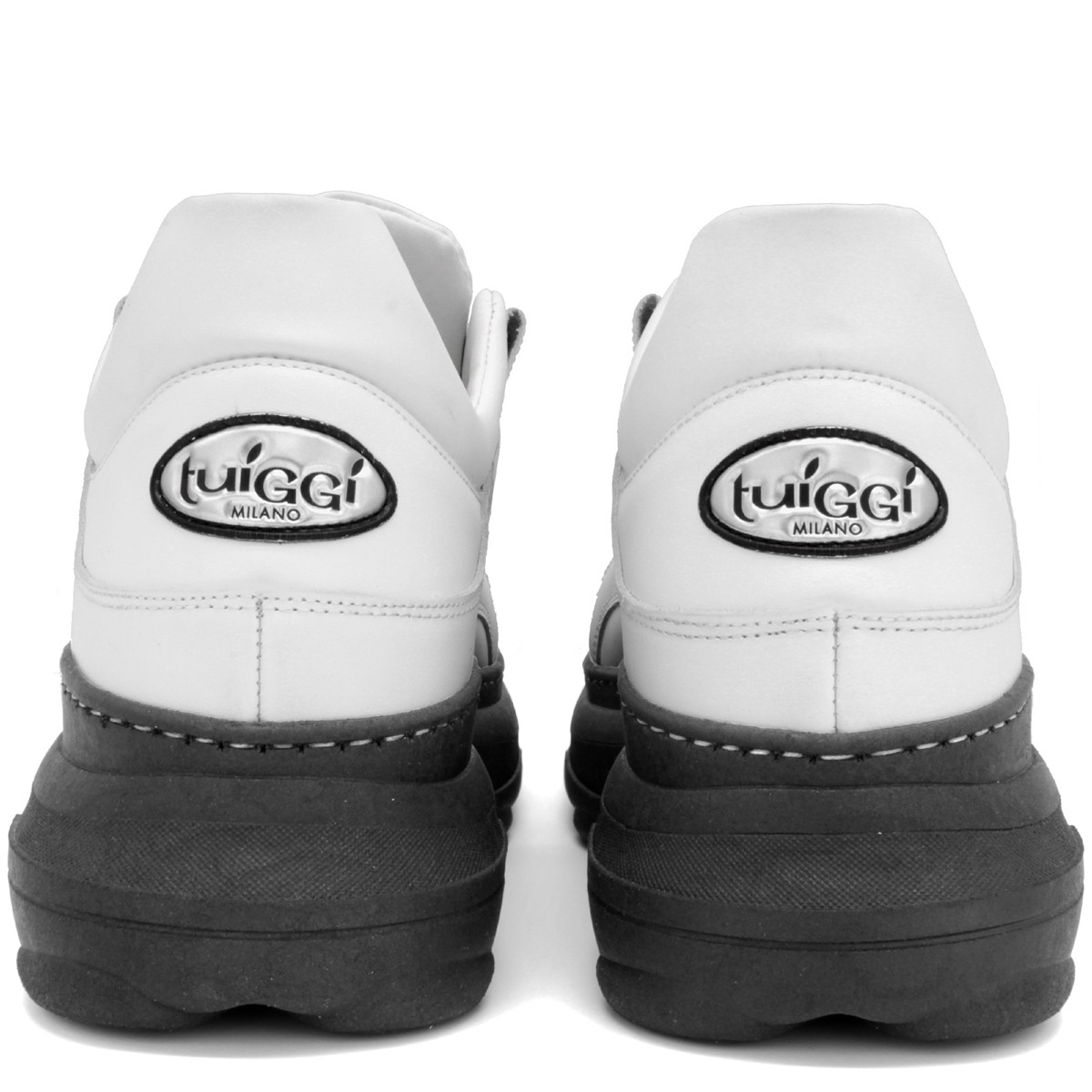 "WHITE AND BLACK SNEAKERS ""BALI"""