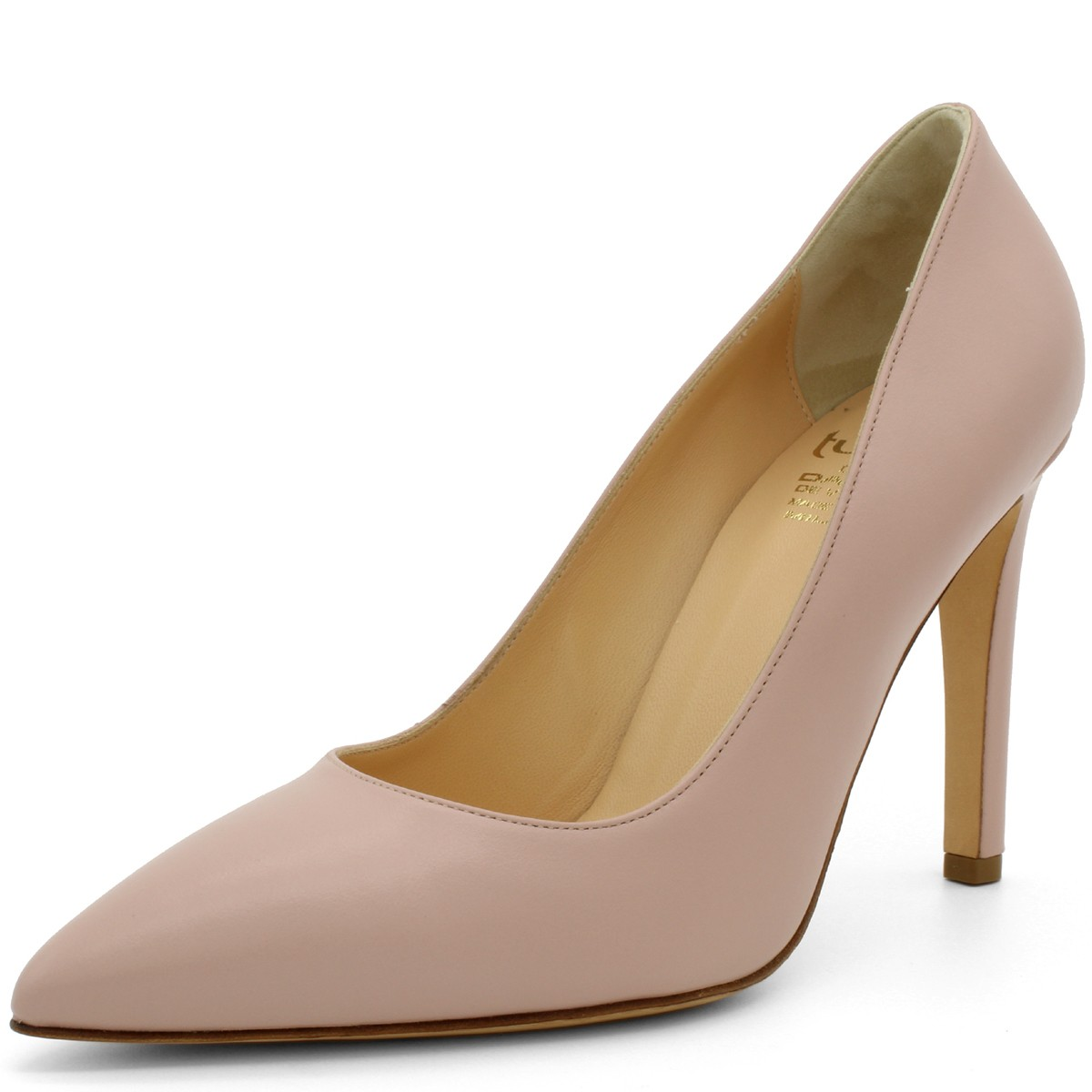 PINK POINTED-TOE 100 PUMPS