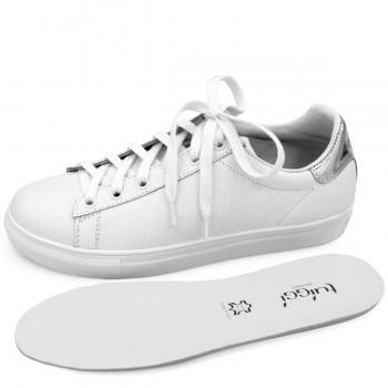 Туфли с открытым мысом цвета фуксия на шпильке и платформе