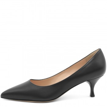 PUMPS 50 VITELLO NERO