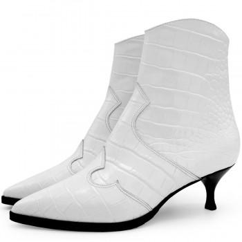 Sneakers con tacco beige e tessuto