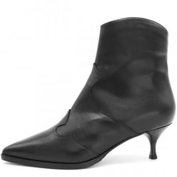 Модные кожаные кроссовки ботинки цвет синий