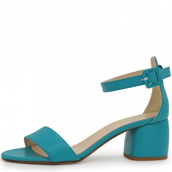 TURQUOISE SNAKE 50 CLASSIC SANDALS